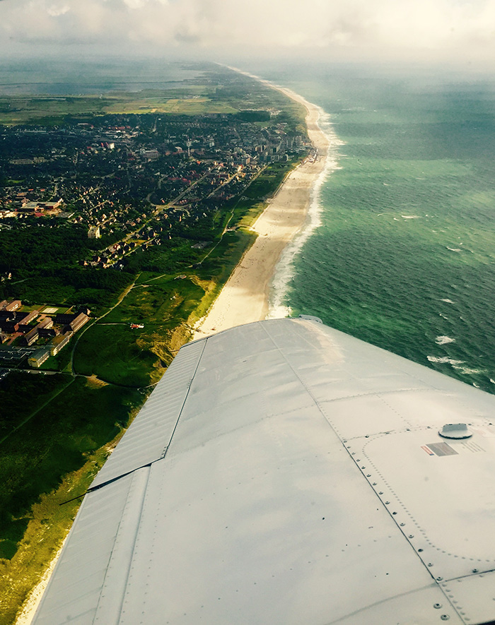 Sylt na take-off